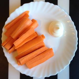 Морковные палочки